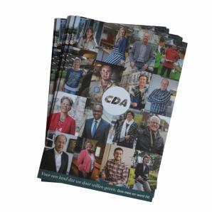 Ledenwerfkaart 2018, verpakt per 25 stuks.  Max. 4 eenheden per afdeling
